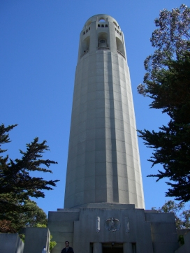 Coit Tower In San Francisco, CA