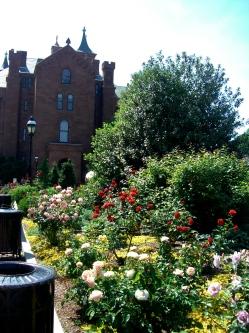 Smithsonian Castle Garden in Washington, DC