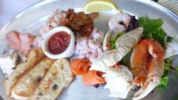 Seafood Appetizer Sampler