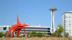 SAM and Space Needle Seattle, WA