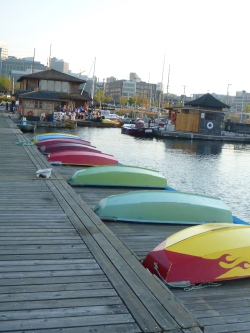 Boat rentals at Center for Wooden Boats on Lake Union in Seattle, WA