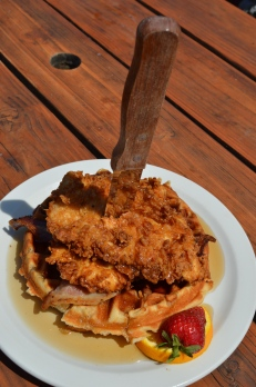 Chicken N'Waffle at NEPO 42 in Portland, OR