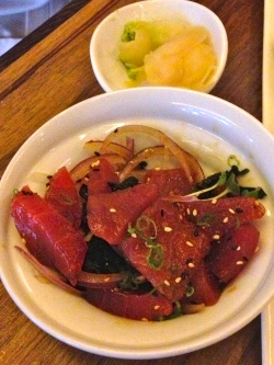 Tuna Salad at Bamboo in Portland, OR